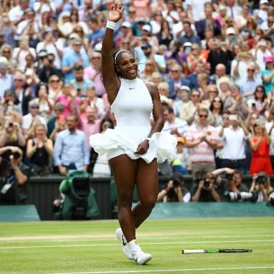 Sports: Serena Williams Beats Angelique Kerber in Wimbledon Final for 22nd Slam Title