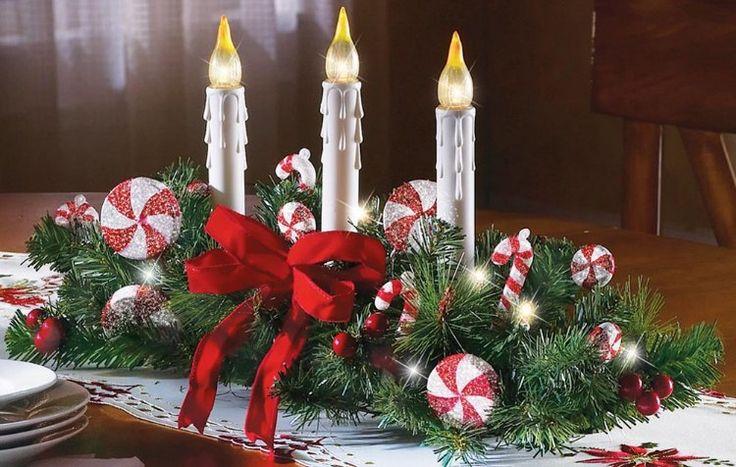 Vamos a daros varias ideas para centros de mesa para - Preparar mesa navidad ...