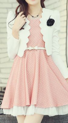This Pin was discovered by Lollimobile Accessories for Girls. Discover (and save!) your own Pins on Pinterest. | See more about pink polka dots, polka dot dresses and asian fashion.