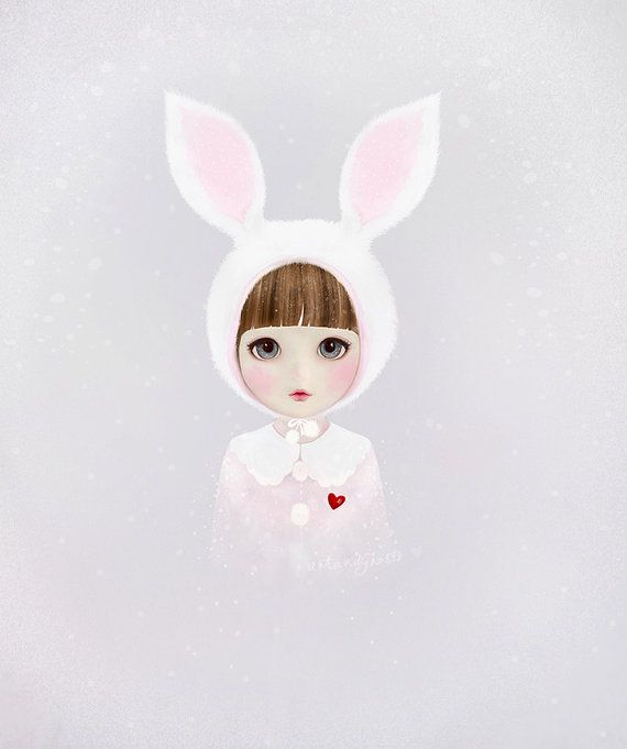NEW Bunny Penfold digital art print. by dansedelune on Etsy