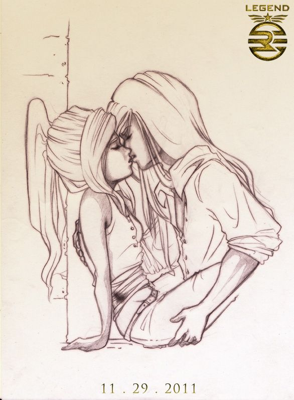 LEGEND - Day Kisses June by mree.deviantart.com Why was this book so freaking good and an author that draws her own fan art??? *dead*