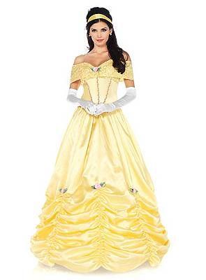 Schöne Belle Kostüm von maskworld.com #disney #belle #dieschöneunddasbiest #gelb #ballkleid #maskworld