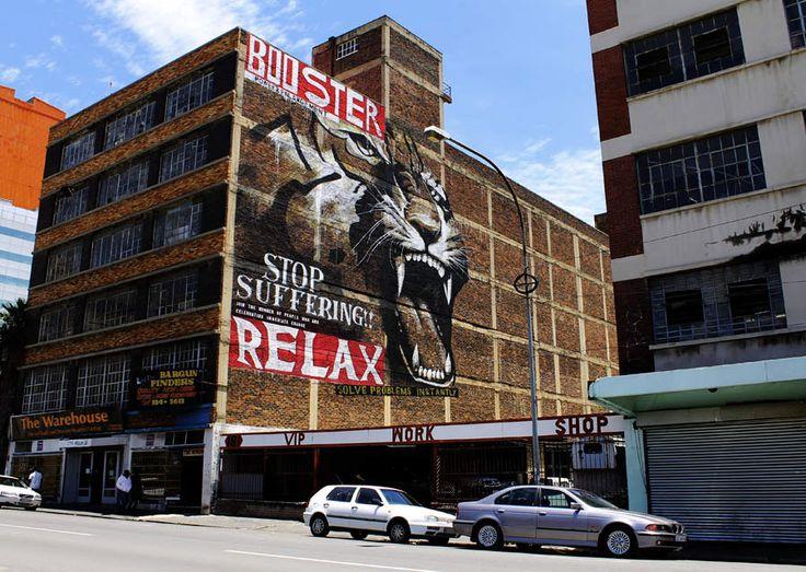 Faith47, Johannesburg