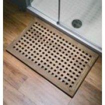 Matki Shower Tray With Teak Decking