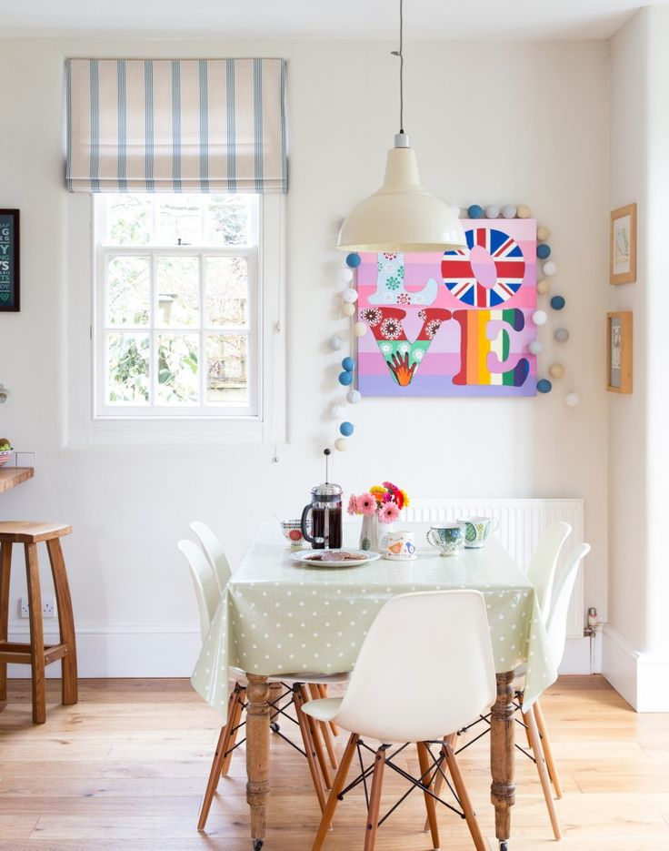 Try A Muted Decorating Scheme For Dining Room Or Kitchen Diner Pick