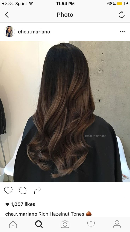 best lightening dark hair images on pinterest brunette hair