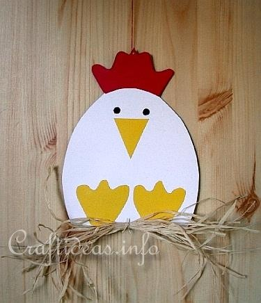 Great craft for short e. Students could cut out egg shapes and write short e words on them,