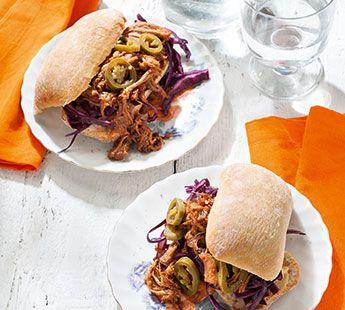 Pulled pork sandwich - Recept - Jumbo Supermarkten