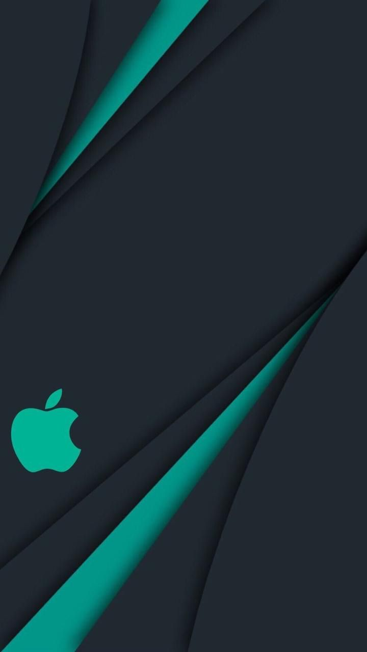 Black   Theme   Wallpapers   iPhone   Android   Apple logo ...
