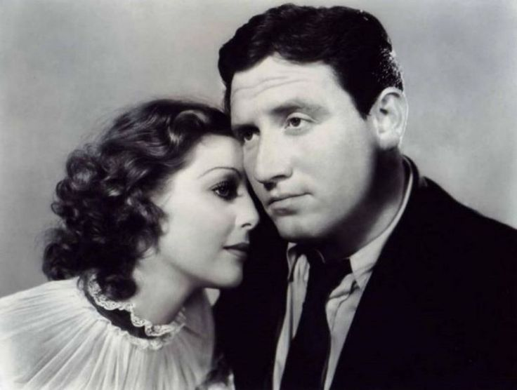 """Loretta Young and Spencer Tracy, both """"fixer"""" charges of Eddie Mannix, for entirely different reasons."""