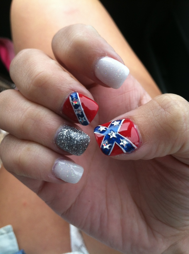 Country nails - 128 Best Country Girl Nails Images On Pinterest Pretty Nails