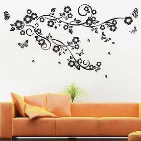 11 best images about pegatinas pared florales y vinilos for Stickers decorativos