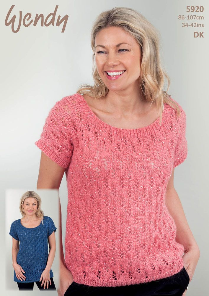 Wendy DK Leaflet 5920 http://www.tbramsden.co.uk/catalog/patterns/womens/5920