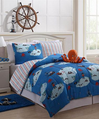 Take a look at this Jack Reversible Comforter Set by Victoria Classics on #zulily today!