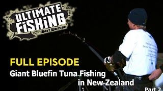 Giant Bluefin Tuna Fishing in New Zealand Pt2 – ULTIMATE FISHING TV  The fishing just doesn't let up. Giant tuna feed like hungry mongrel dogs behind the huge Russian trawlers and Matt hooks into the biggest tuna yet, the battle is full of unbelievable drama as the team on C...  http://gonefishinonline.co.nz/giant-bluefin-tuna-fishing-in-new-zealand-pt2-ultimate-fishing-tv/