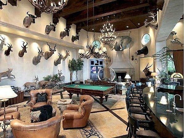 Georgia Trophy Room May Be the State's Best Man Cave - On the Market - Curbed National