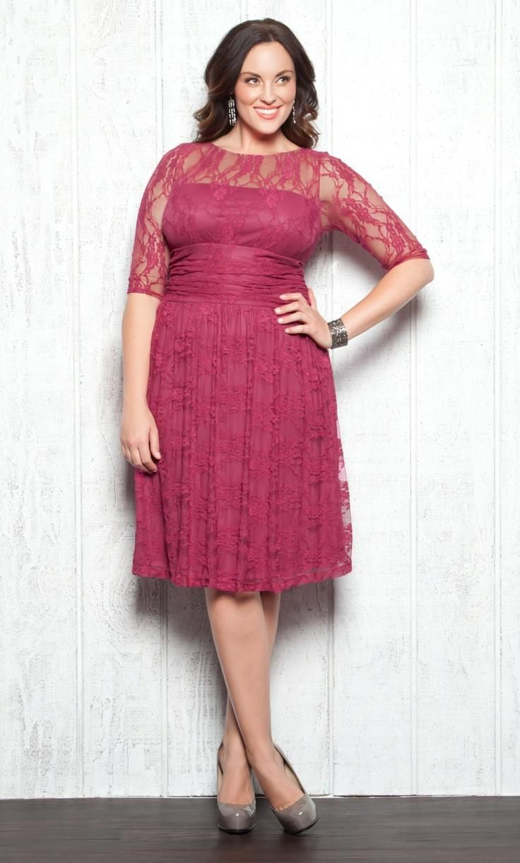 Plus size wedding guest dresses wedding nice pinterest for Dressing for wedding guests