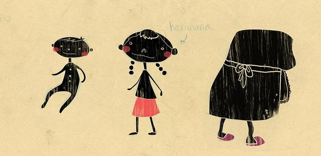 diseño de personajes 1 by {.maca.}, via Flickr