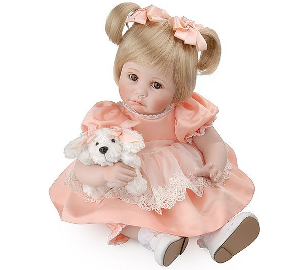 Doll available in Amazon listing is this version of the Marie Osmond My Pet Series and NOT the Adora Belle. Thanks.