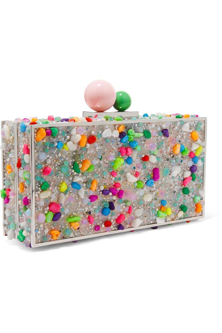 SOPHIA WEBSTER Clara embellished acrylic box clutch€427