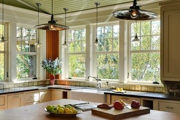 Summer Lake House - traditional - kitchen - burlington - Smith & Vansant Architects PC