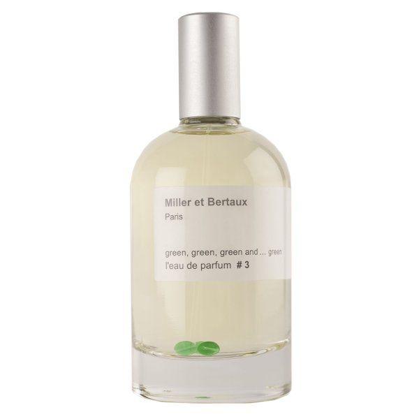 Ecuación Natural   Perfume #3 Green, green, green and… green de Miller et Bertaux en Ecuación Natural s.c.