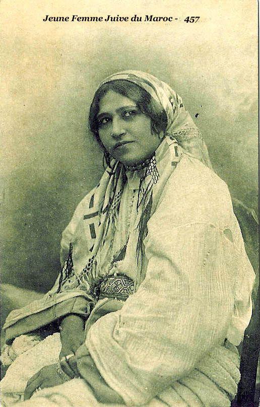 Moroccan jewish woman