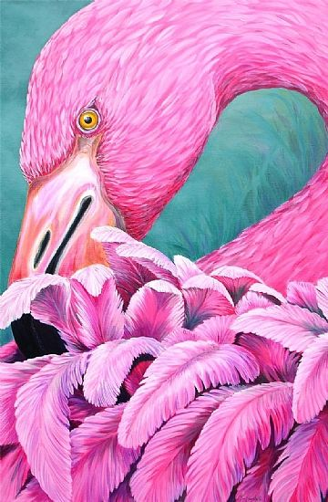 220 best baby chicks all feathered friends paintings for Flamingo feather paint