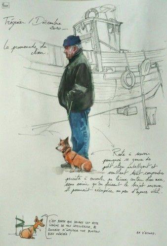 """est programmé ! Ce seront pour ainsi dire mes premiers cours de dessin... ce sera en Bretagne avec Yann Lesacher... Et je m'en réjouis d'avance ! quelques planches de """"une Bretagne par les contours"""" que Yann met à jour quotidiennement sur son blog. J'aime..."""