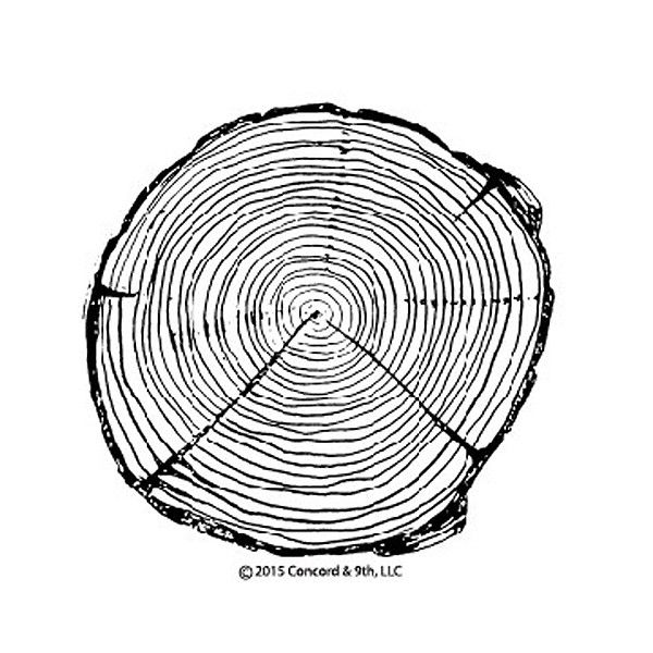 """4x4 background stamp. Image measures approximately 3 7/8"""" in diameter."""