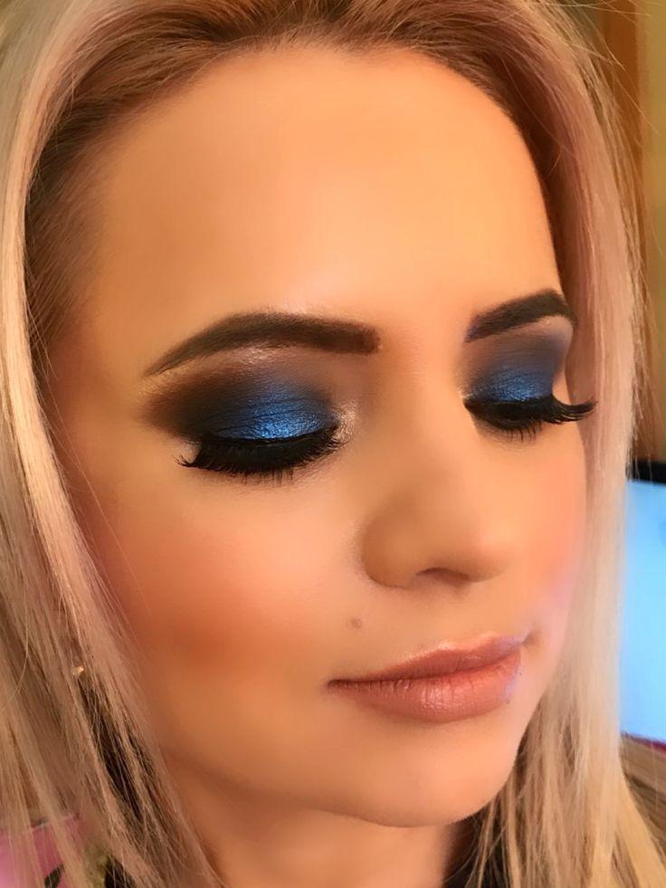 makeupelen.ro Blue smokey!
