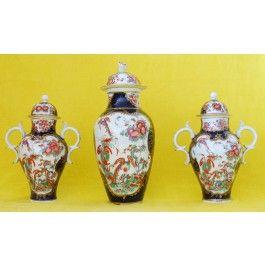 Covered vase: Jabberwocky and Phoenix  C1765