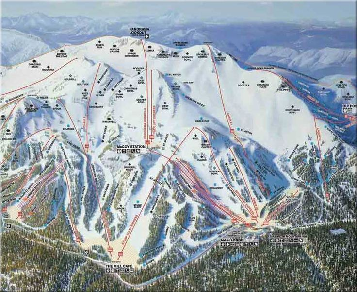 Mammoth Mountain - you can ski forever!!!   http://www.cityconcierge.com/mammoth-lakes/