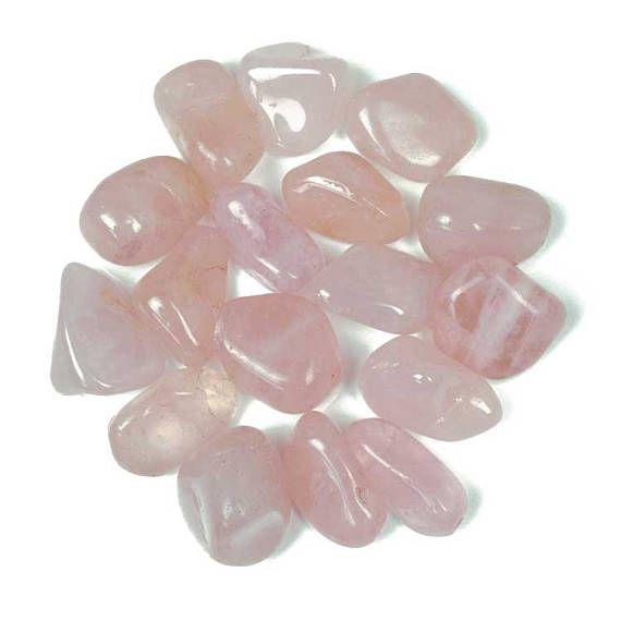Rose Quartz Medium Tumblestone  Natural Pink Tumble Stone
