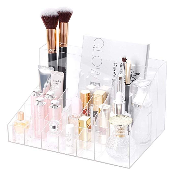 Rackaphile Clear Cosmetic Storage Organizer Clear Acrylic Makeup