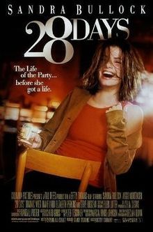 28 Days is a 2000 American comedy-drama film directed by Betty Thomas. Sandra Bullock plays Gwen Cummings, a newspaper columnist obliged to enter rehabilitation for alcoholism. The film costars Viggo Mortensen, Dominic West, Elizabeth Perkins, Steve Buscemi and Diane Ladd.