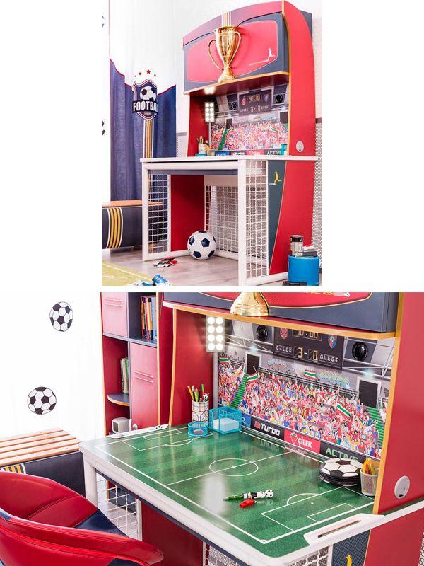 Γραφεία με θέμα το ποδόσφαιρό της Cilek