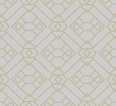 Обои с золотой геометрией 66541 Hookedonwalls