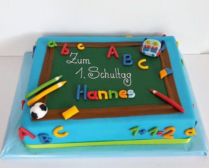 Tortenkuchen für die Schule – Beliebte Rezepte für …   – Kuchen f. einschulung