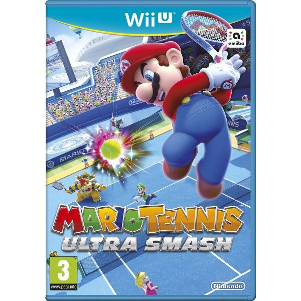 Was £54.99 > Now £20.14.  Save 63% off Mario Tennis: Ultra Smash (Nintendo Wii U) #5StarDeal, #Games, #LowestEver, #Sports, #Tennis, #Under25, #VideoGames