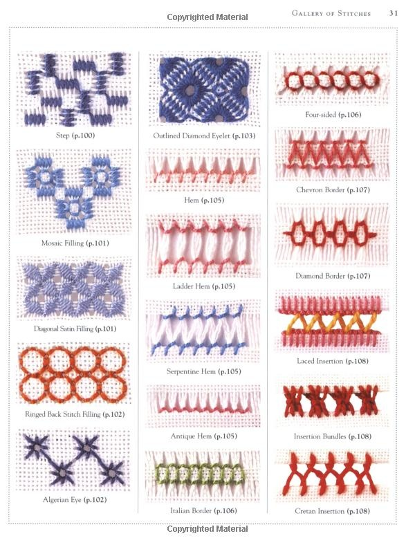 Embroidery stitches #1