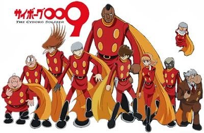 Cyborg 009 e X-Men