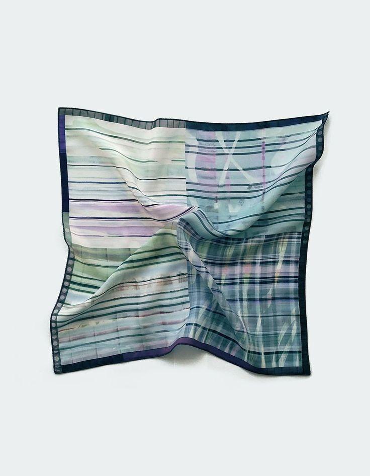 New to ImaPico on Etsy: Grey and light blue pocket square mens silk pocket handkerchief wedding handkerchiefs silk gifts for men cool gift for guys uk seller (28.00 GBP)