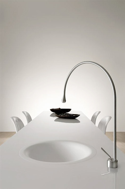 Best WWWgessiit Images On Pinterest Bathroom Collections - Contemporary waterfall faucets riflessi from gessi