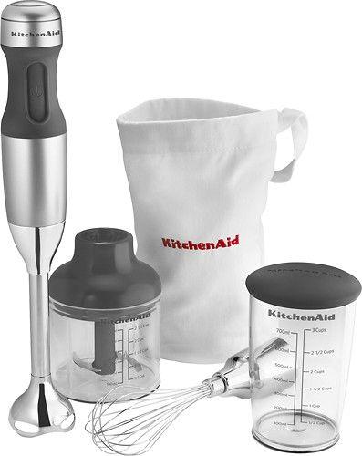 Kitchenaid Khb2351cu 3 Speed Hand Mixer Contour Silver