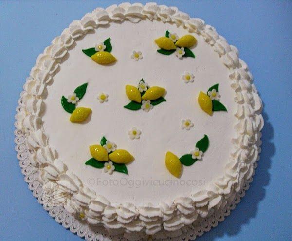 Torta Delizia al Limone©Oggivicucinocosì