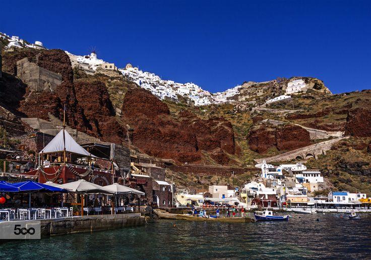 View from Amoudi Santorini by Nikolaos Mitkanis on 500px