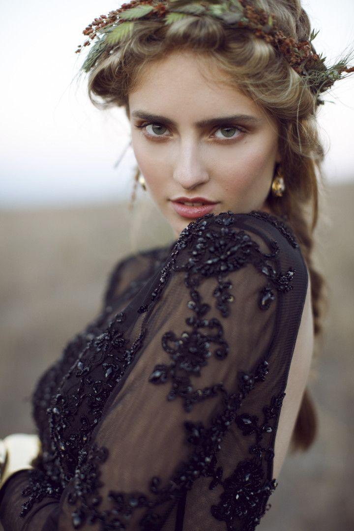Gothic Bohemian Fall Wedding Inspiration Shoot Wedding