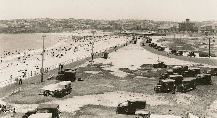 1924 Bondi Beach from the north end