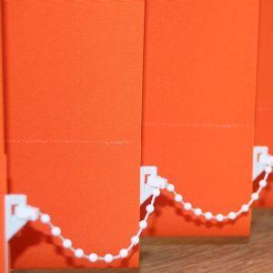 Orange Vertical Blinds | Orange Blinds | Tangerine Tango Blinds